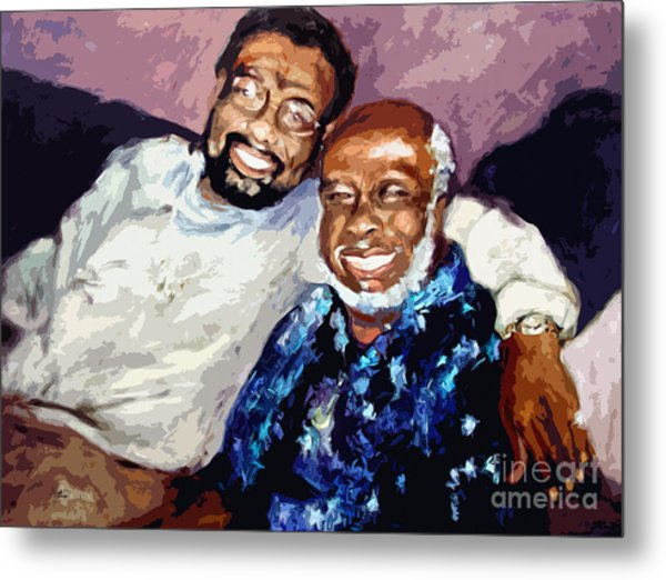 Memphis Soul Music William Bell And Rufus Thomas Metal Print by Ginette Callaway