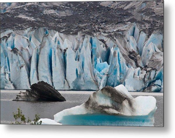 Mendenhall Glacier Juneau Alaska 1698 Metal Print
