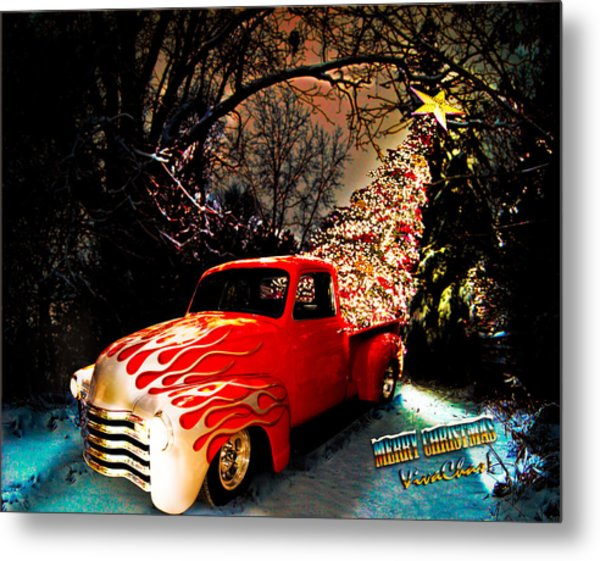 Merry Christmas From Vivachas Metal Print