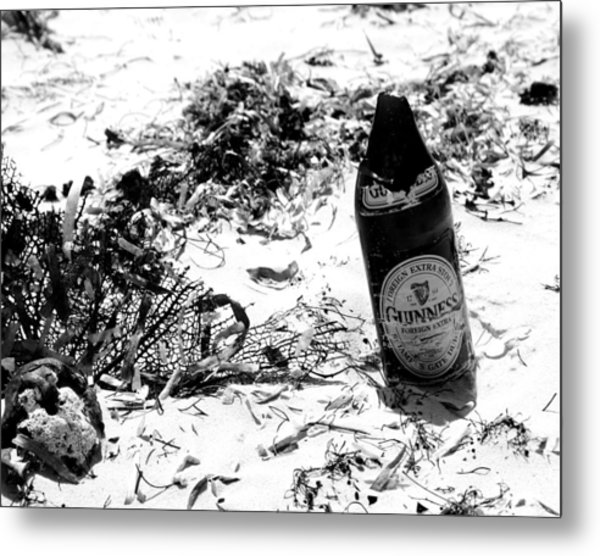 Message In The Bottle Metal Print by Jim McDonald Photography