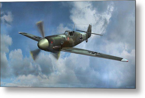 Messerschmitt Bf-109 Metal Print