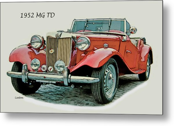 Mg Td Metal Print by Larry Linton