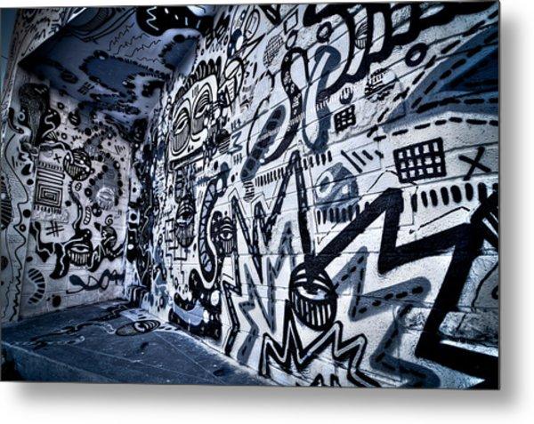 Miami Wynwood Graffiti 2 Metal Print