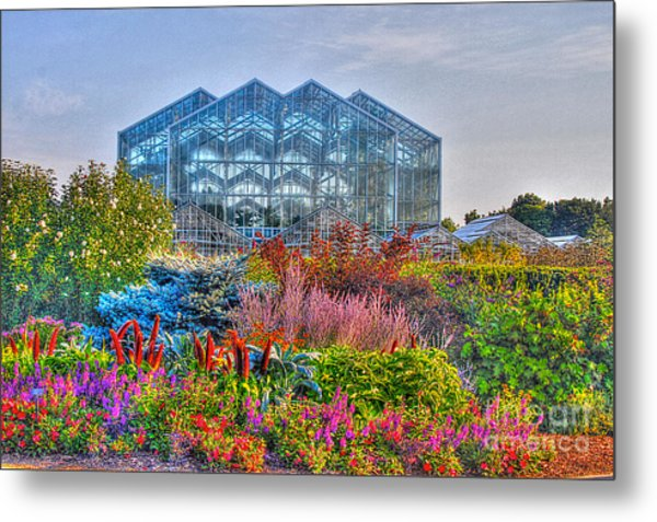 Miejer Gardens Revisited Metal Print by Robert Pearson