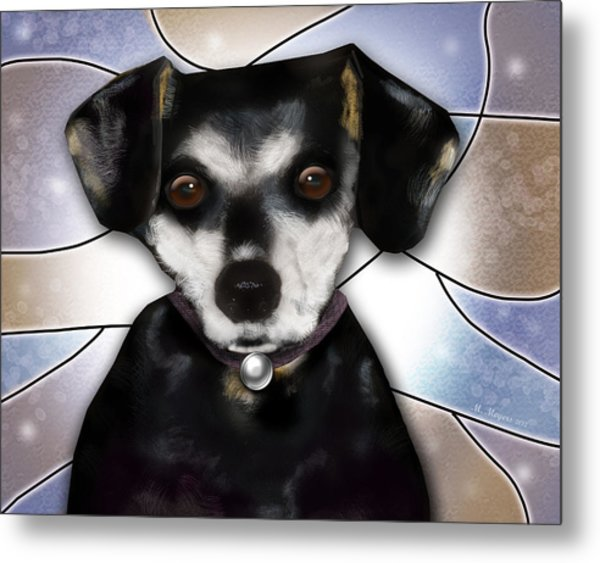 Min Pin Metal Print by Melisa Meyers