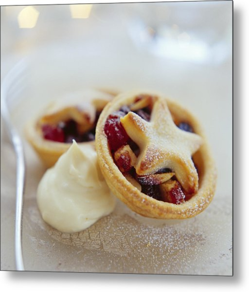 Mince Pies Metal Print by David Munns