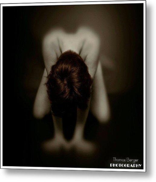 Mindblowing #hønefoss #akt #art #nude Metal Print
