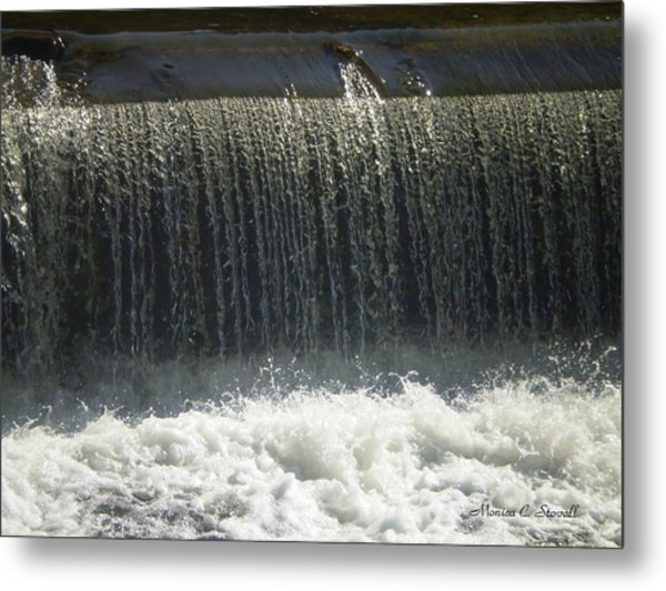 Mineral Park Water Fall - Petoskey Metal Print