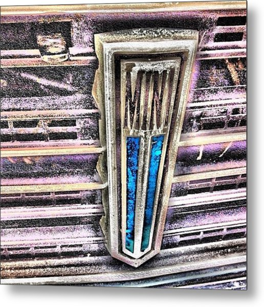 Mini #mini #badge #clubmam #grill #hdr Metal Print