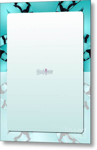 Mint Back Metal Print