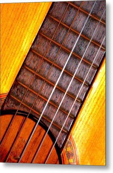 Missing String Metal Print by Jose Lopez