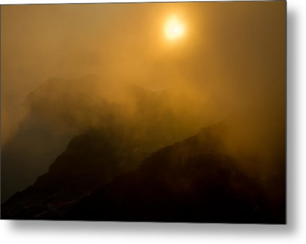 Misty Hongpo Sunset South Korea Metal Print