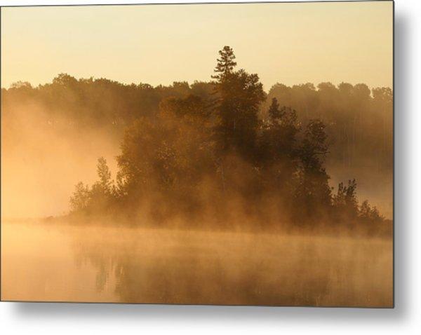 Misty Morning Metal Print by George Ramondo