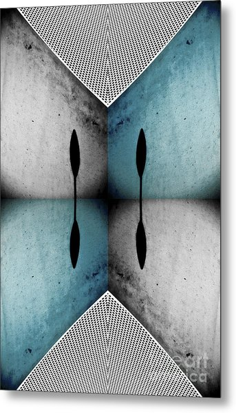 Modern Abstract With An African Theme 3. Metal Print by Emilio Lovisa