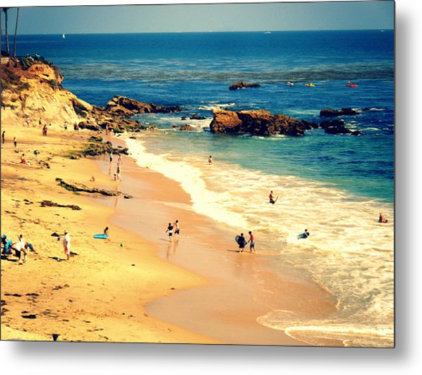 Monarch Beach Day Metal Print by Kevin Moore