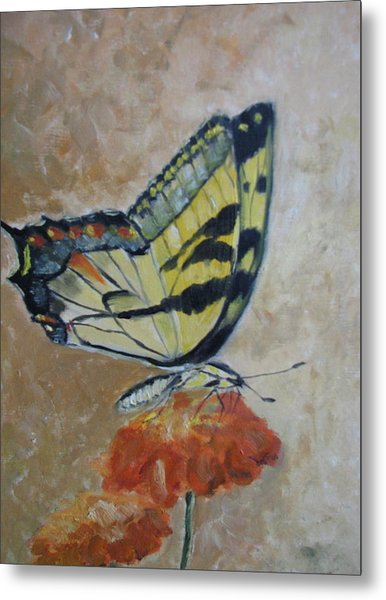 Monarch Metal Print by Iris Nazario Dziadul