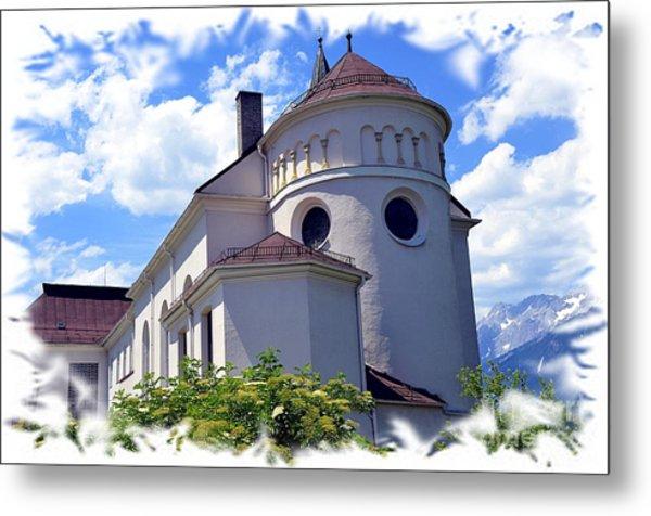 Monastery In Tyrol Metal Print