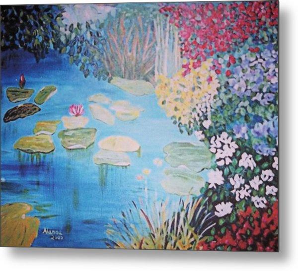 Monet Style By Alanna Metal Print by Alanna Hug-McAnnally