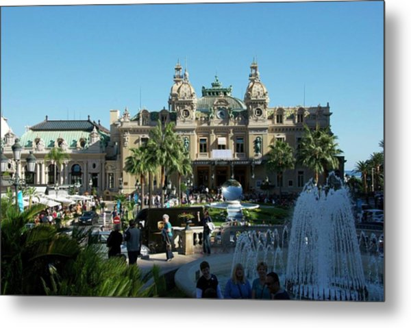 Metal Print featuring the photograph Monte Carlo by Ralph Jones