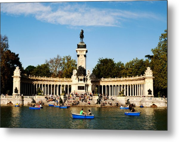 Monument To Alfonso Xii Metal Print