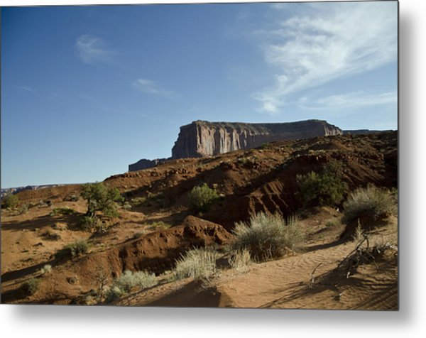 Monument Valley Morning Metal Print