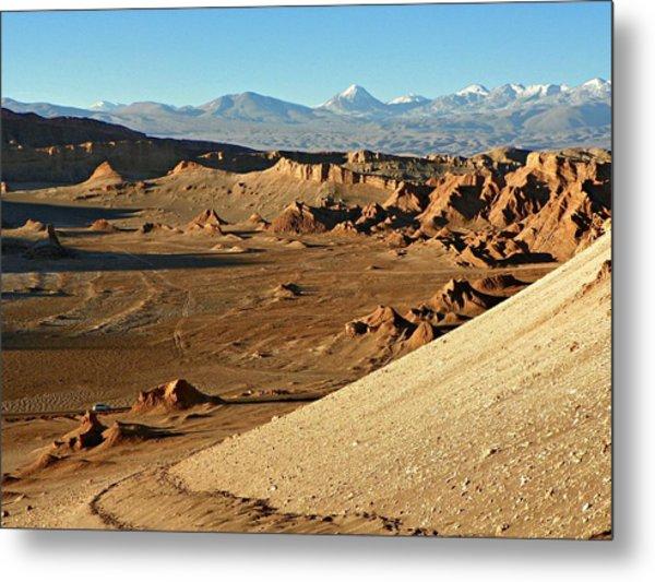 Moon Valley Atacama Desert Metal Print