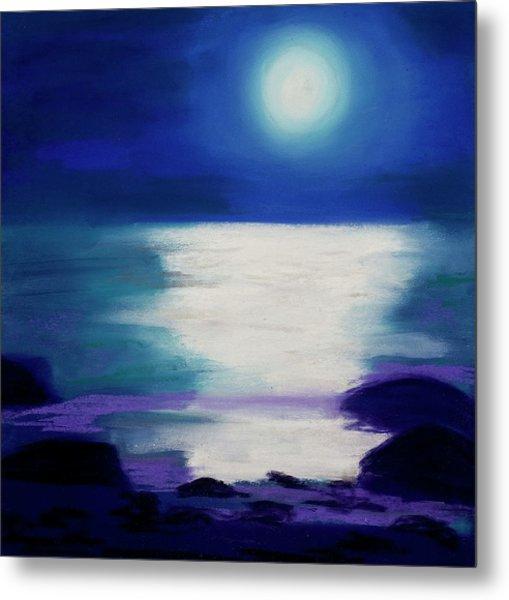 Moonlight Sonata Metal Print by Diana Tripp