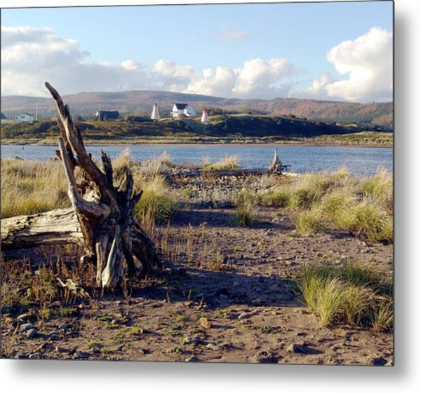 Morning At Margaree Harbour Metal Print