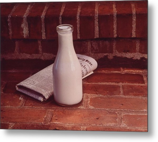 Morning Delivery Metal Print by Victor Keppler