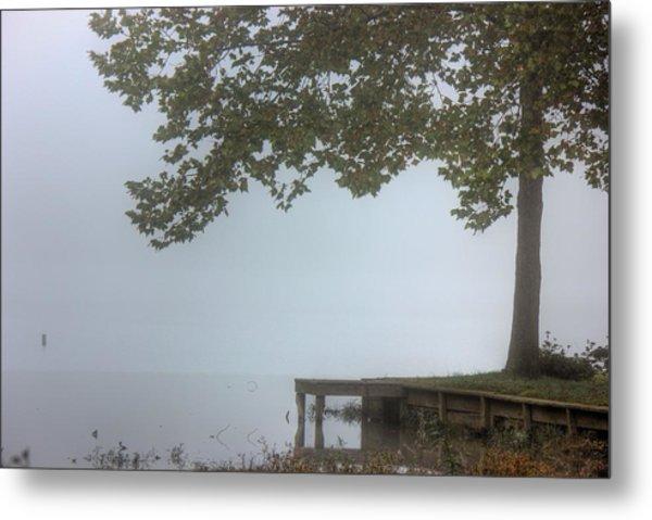 Morning Fog Metal Print by Barry Jones
