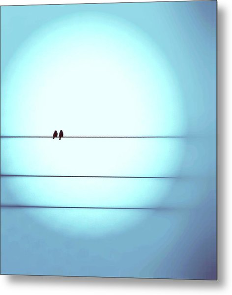 Morning Hopes  Metal Print