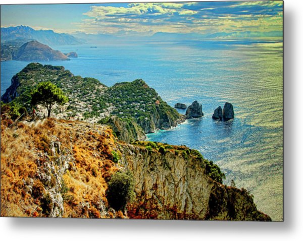 Morning In Capri Metal Print by Andre Salvador