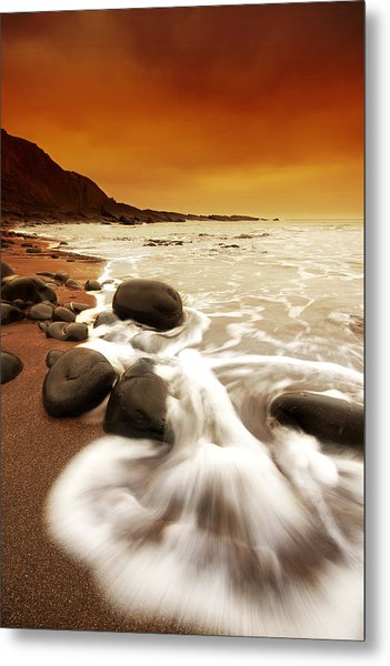 Morning Rush Metal Print by Mark Leader