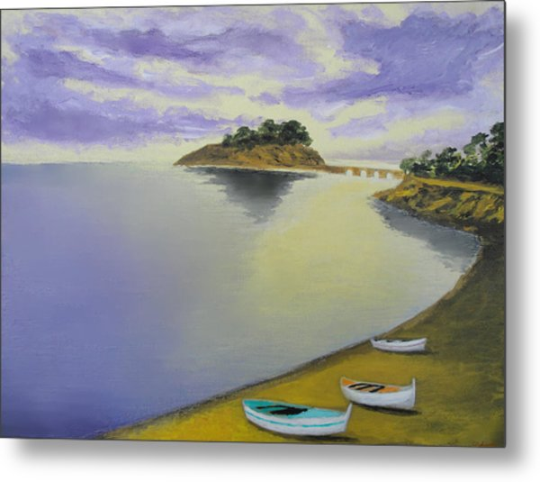 Morning Sea Metal Print