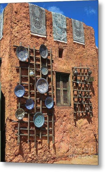 Moroccan Marketplace Metal Print