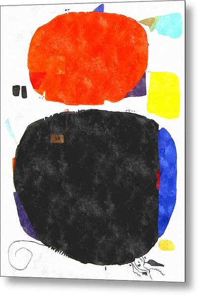 Mortaruru With Red Overhead Metal Print