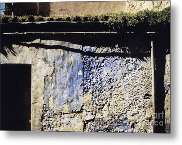 Moss On The Roof Metal Print