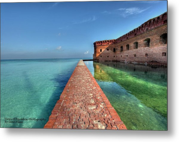 Mote Wall Walk Metal Print
