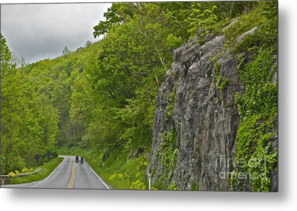 Motorcycle Ride - 1039 Metal Print by Chuck Smith