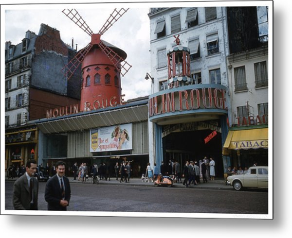 Moulin Rouge Metal Print by Theo Bethel