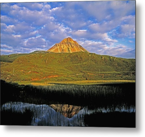 Mount Errigal Co Donegal Ireland Photograph By The Irish