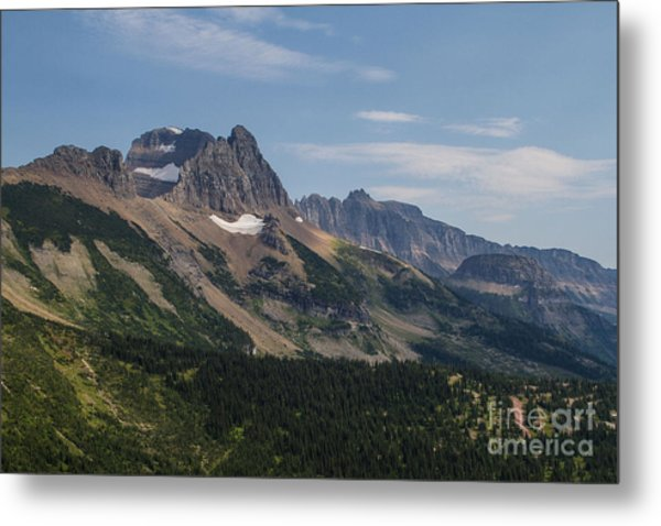 Metal Print featuring the photograph Mount Gould O Garden Wall To Haystack Butte by Katie LaSalle-Lowery