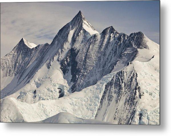Mount Herschel Above Cape Hallett Metal Print