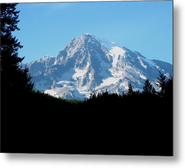Mount Rainier 11 Metal Print by Kathy Long