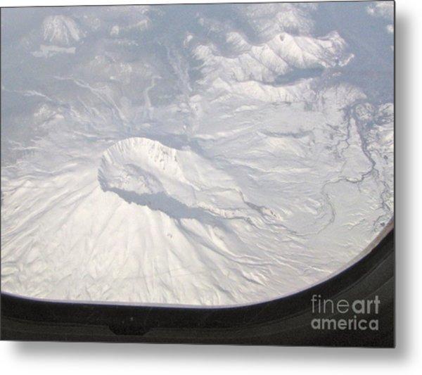 Mount St. Helens From Alk 458 Metal Print