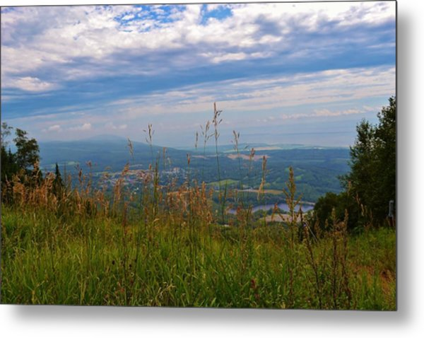 Mountain Fall Quebec Metal Print by Josee Dube