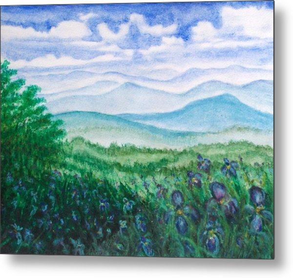 Mountain Glory Metal Print by Jeanette Stewart