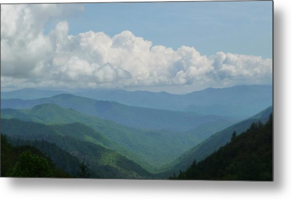 Mountain Magnificence Metal Print by Michael Carrothers