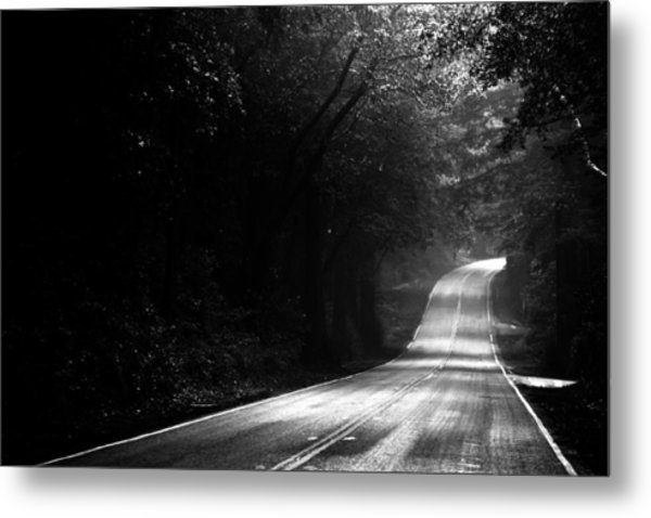 Mountain Road II Metal Print