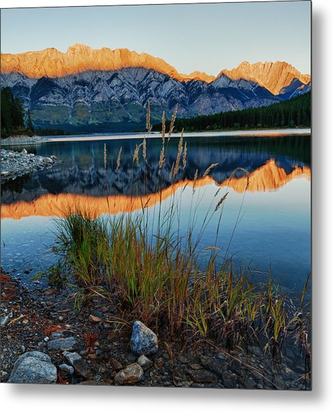 Metal Print featuring the photograph Mountain Shadow by David Buhler